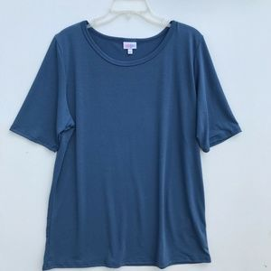 LuLaRoe Basic Short Sleeve Tee Shirt Solid #1485